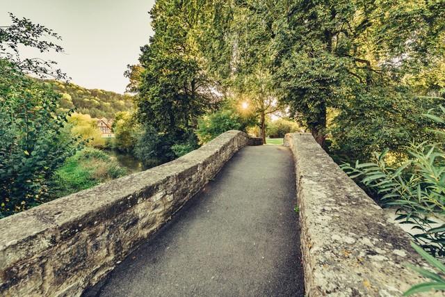 Steinbrücke bei Forchtenberg