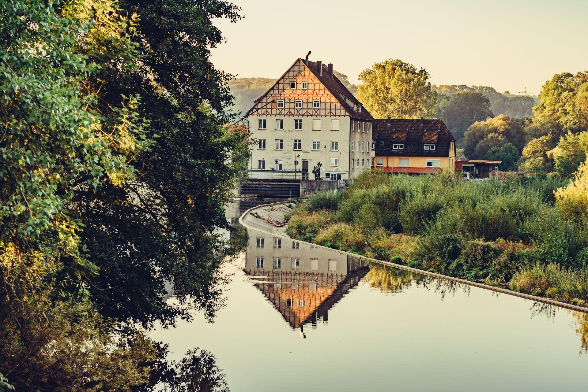 Wehr bei Jagsthausen