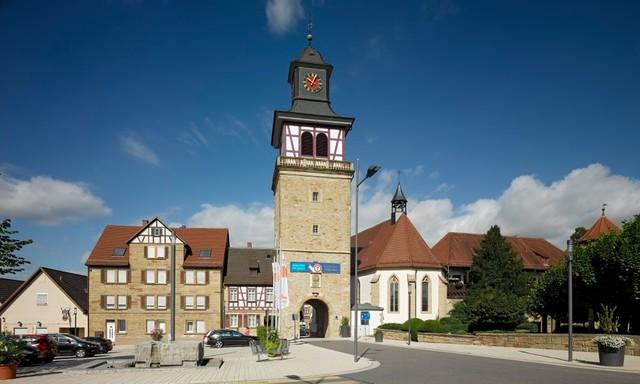 Torturm in Neuenstadt am Kocher