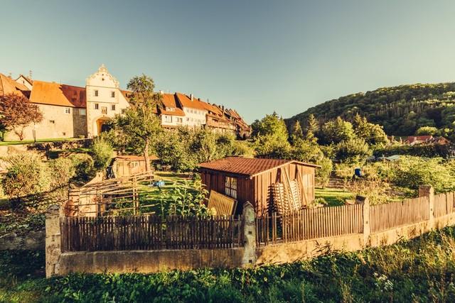 Stadtmauer in Forchtenberg