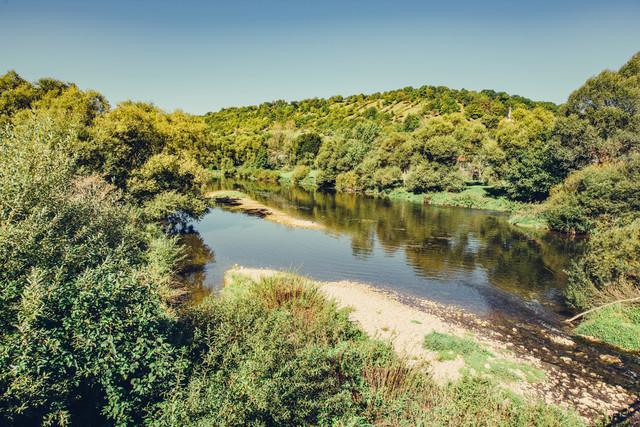 Fluss bei Mulfingen-Eberbach