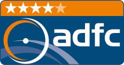 ADFC 4-Sterne Klassifizierung Logo
