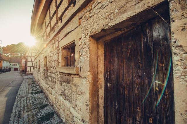 Niedernhall Hausmauer