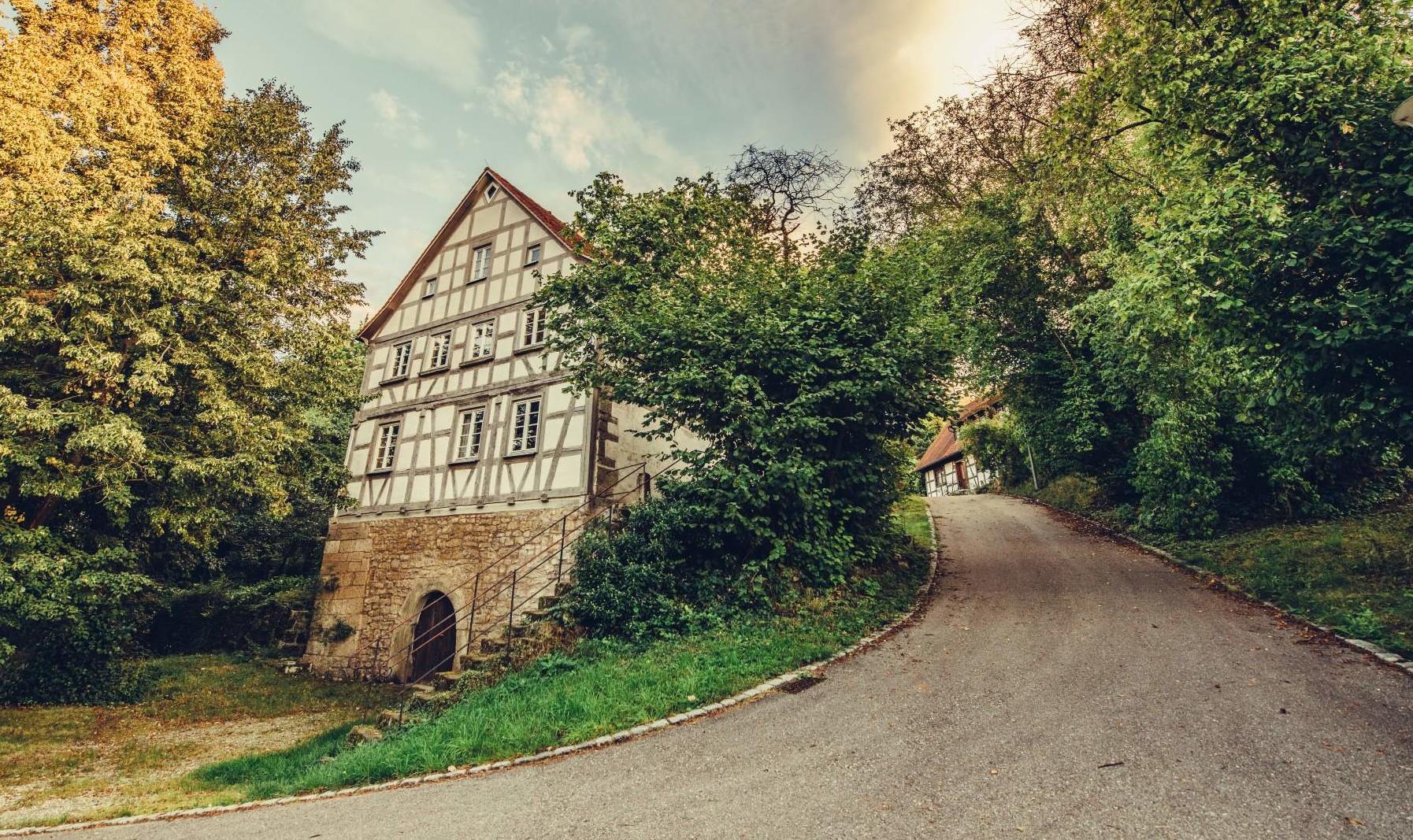 Fachwerkhaus bei Ilshofen-Leofels